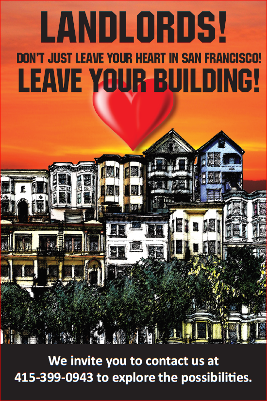 landlords leave your properties to SFCLT